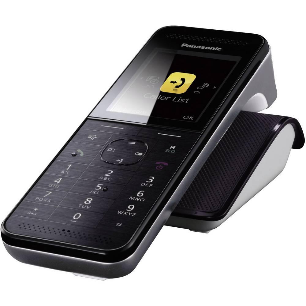 DECT bežični telefon Panasonic KX-PRWA10 crne boje, nehrđajući čelik