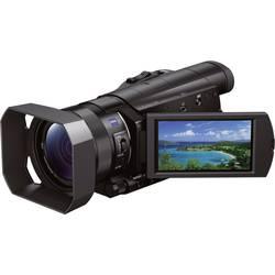 Kamkorder Sony FDR-AX100E 8.9 cm (3.5 palčna) 20.9 Mio. pikslov Opt. Zoom: 12 x črn