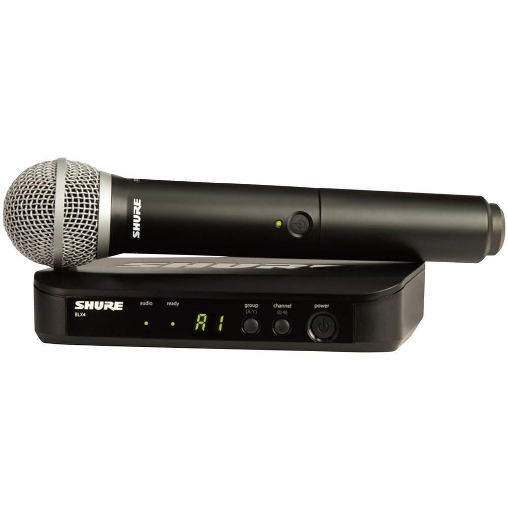 Brezžični mikrofon Shure PG58, komplet BLX24E/PG58-S8