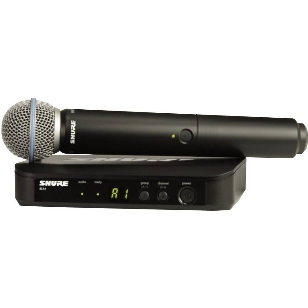 Brezžični mikrofon Shure Beta58, komplet BLX24E/B58-S8