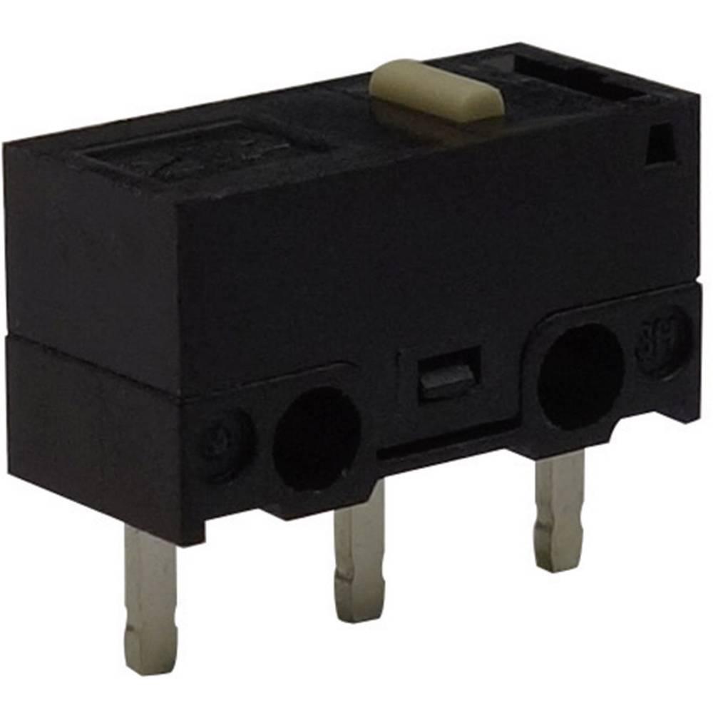 Mikro stikalo, 125 V/AC 3 A 1 x vklop/(vklop) Zippy DF-03S-0P-Z tipkalno 1 kos