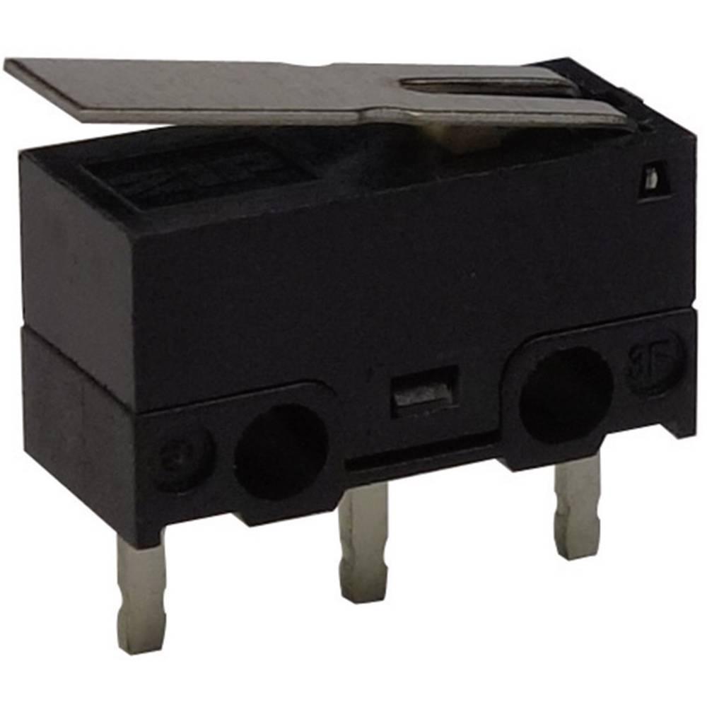 Mikro stikalo, 125 V/AC 3 A 1 x vklop/(vklop) Zippy DF-03S-1P-Z tipkalno 1 kos