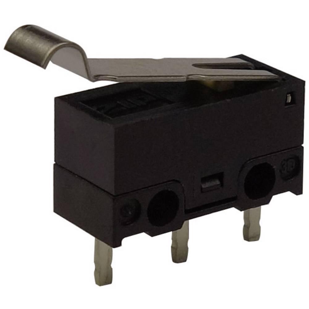 Mikro stikalo, 125 V/AC 3 A 1 x vklop/(vklop) Zippy DF-03S-2P-Z tipkalno 1 kos