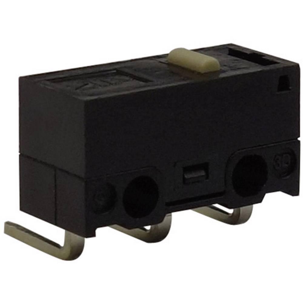 Mikro stikalo, 125 V/AC 3 A 1 x vklop/(vklop) Zippy DF-03S-0C-Z tipkalno 1 kos