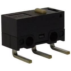 Mikro stikalo, 125 V/AC 3 A 1 x vklop/(vklop) Zippy DF-03S-0D-Z tipkalno 1 kos