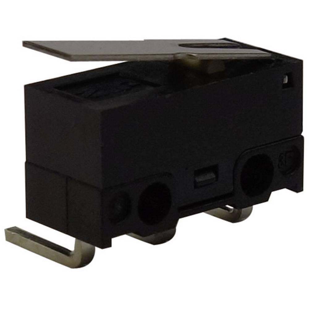 Mikro stikalo, 125 V/AC 3 A 1 x vklop/(vklop) Zippy DF-03S-1C-Z tipkalno 1 kos