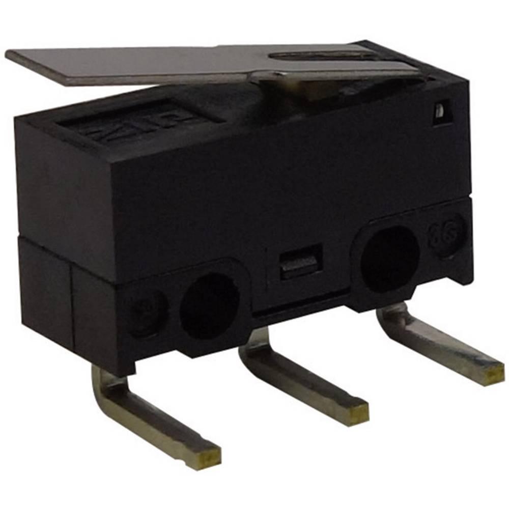 Mikro stikalo, 125 V/AC 3 A 1 x vklop/(vklop) Zippy DF-03S-1D-Z tipkalno 1 kos
