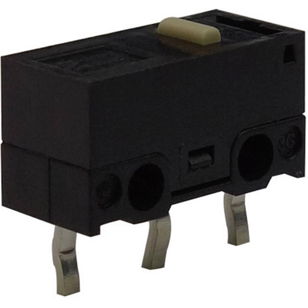 Mikro stikalo, 125 V/AC 3 A 1 x vklop/(vklop) Zippy DF-03S-0F-Z tipkalno 1 kos