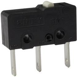 Mikro stikalo, 250 V/AC 6 A 1 x vklop/(vklop) Zippy SM1-N6S-00B0-Z tipkalno 1 kos