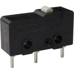 Mikro stikalo, 250 V/AC 6 A 1 x vklop/(vklop) Zippy SM1-N6S-00P0-Z tipkalno 1 kos