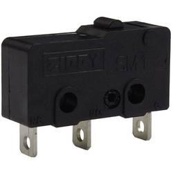 Mikro stikalo, 250 V/AC 16 A 1 x vklop/(vklop) Zippy SM1-16H-00A0-Z tipkalno 1 kos
