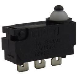 Mikro stikalo, 12 V/DC 0.1 A 1 x vklop/(vklop) Zippy DW-N2S-00A0D-Z tipkalno 1 kos