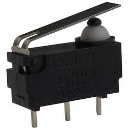 Mikro stikalo, 12 V/DC 3 A 1 x vklop/(vklop) Zippy DW-N3S-01P0D-Z tipkalno 1 kos