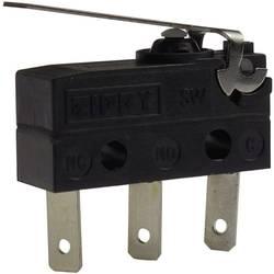 Mikro stikalo, 250 V/AC 6 A Zippy SW-05S-02B0-Z IP67 tipkalno 1 kos