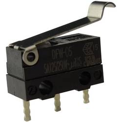 Mikro stikalo, 250 V/AC 5 A 1 x vklop/(vklop) Zippy DFW-05S-B02P0E-Z IP67 tipkalno 1 kos