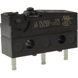 Mikro stikalo, 250 V/AC 6 A 1 x vklop/(vklop) Zippy SW1-06S1-00P0-Z tipkalno 1 kos
