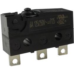 Mikro stikalo, 250 V/AC 6 A 1 x vklop/(vklop) Zippy SW1-06S1-00A0-Z tipkalno 1 kos