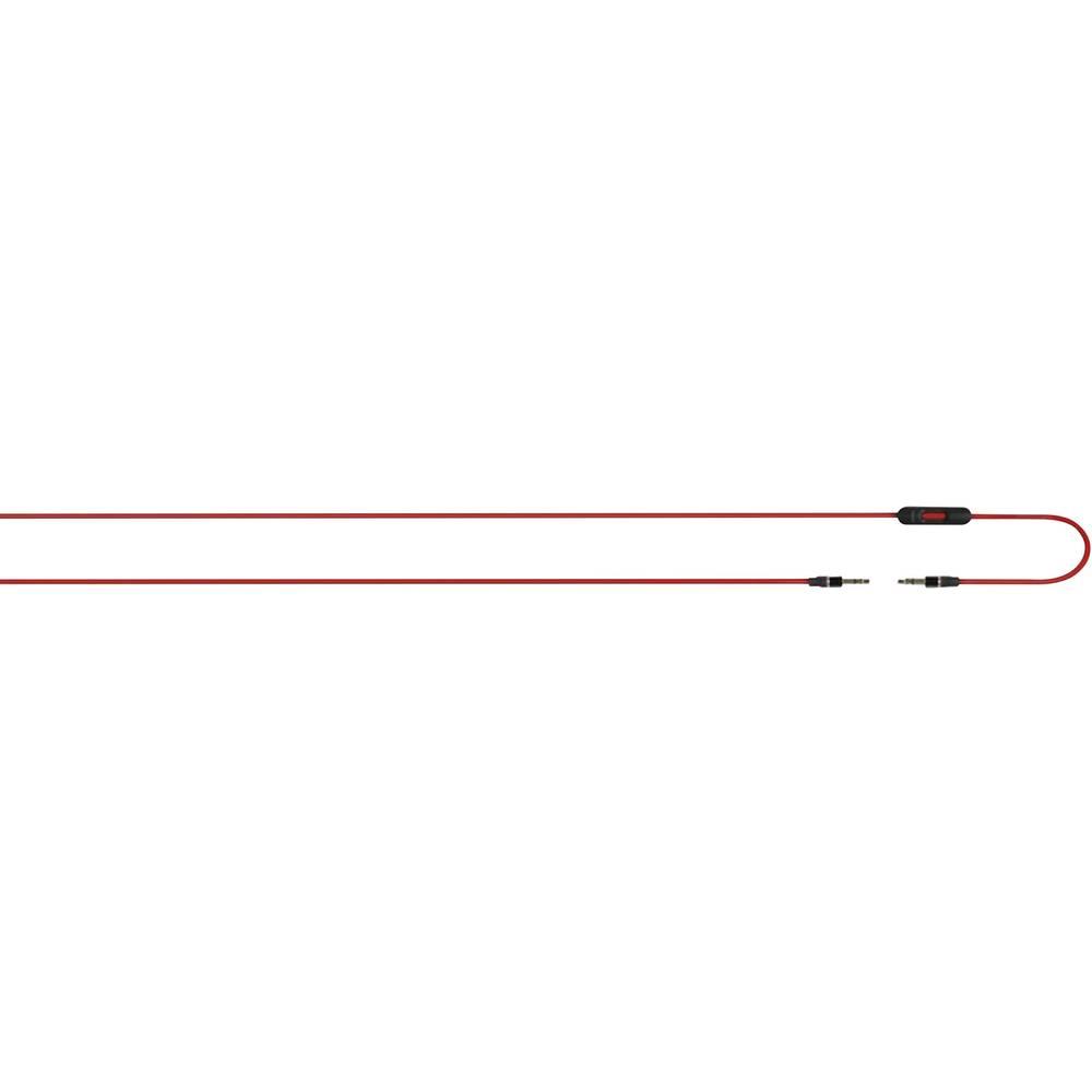 Klinken avdio priključni kabel [1x klinken vtič 3.5 mm - 1x klinken vtič 3.5 mm] 1.21 m rdeče barve Beats by dr. dre, Apple