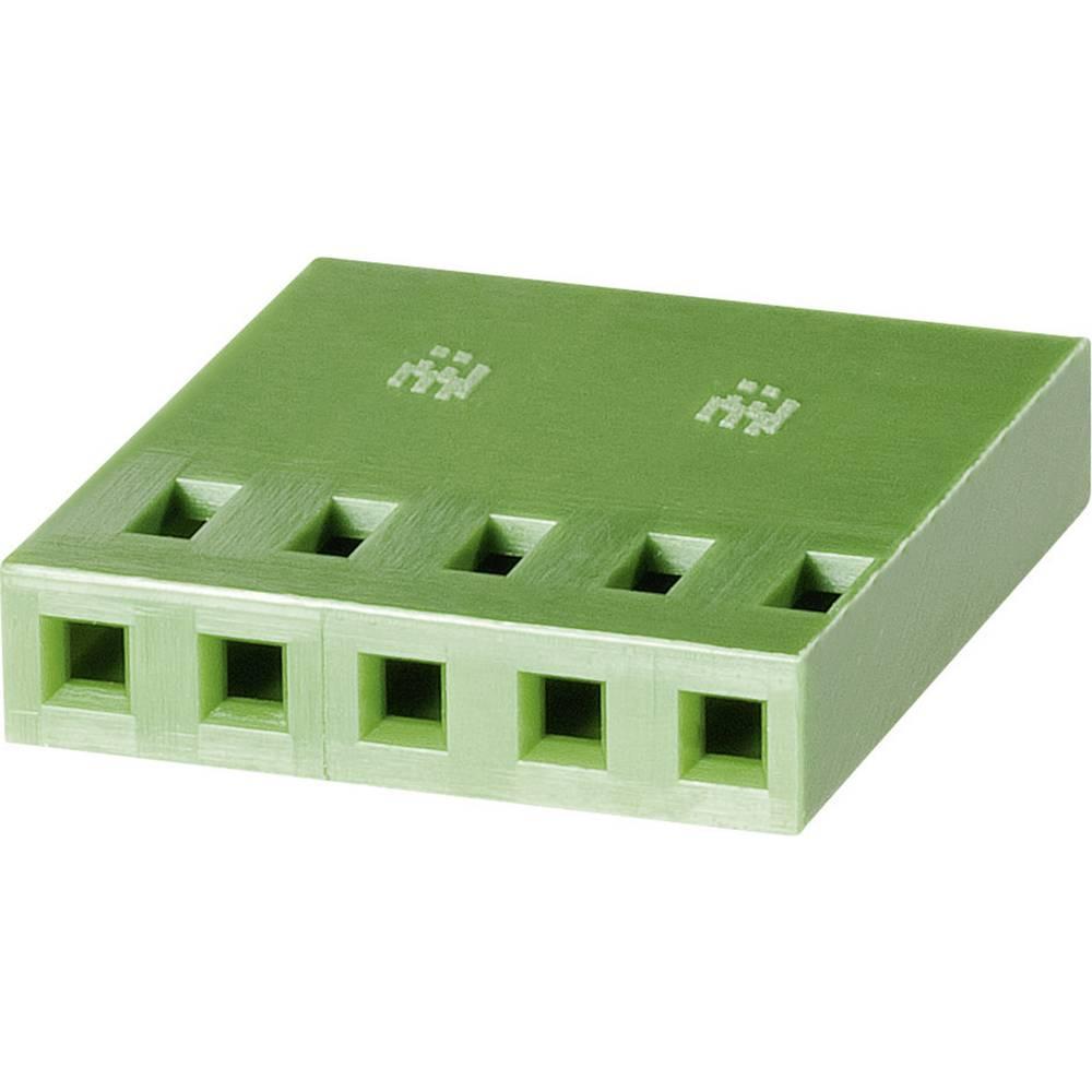 Tilslutningskabinet-kabel AMPMODU MOD IV (value.1360574) Samlet antal poler 4 TE Connectivity 925366-4 Rastermål: 2.54 mm 1 stk