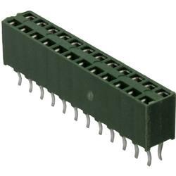 Bøsningsliste (standard) AMPMODU HV-100 (value.1360571) Samlet antal poler 8 TE Connectivity 215307-4 Rastermål: 2.54 mm 1 stk