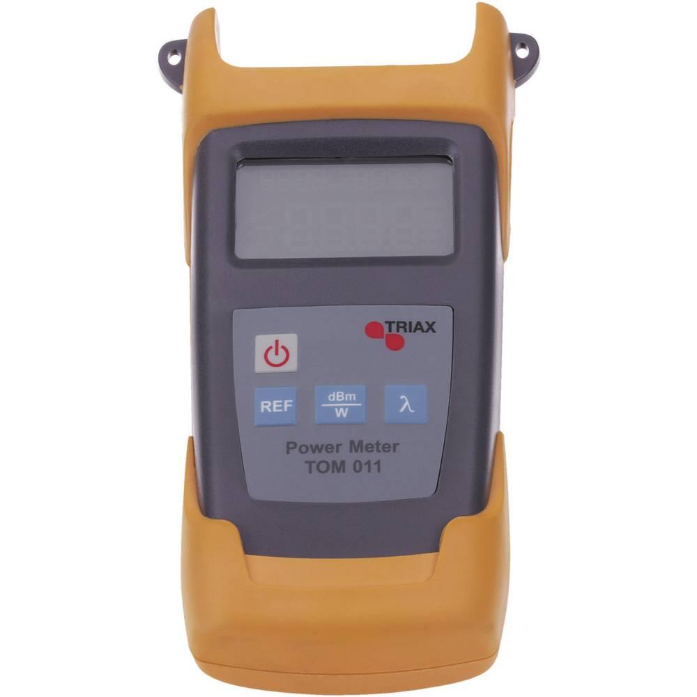 Triax TOM 011 ooptična merilna naprava, kabelska testirna naprava