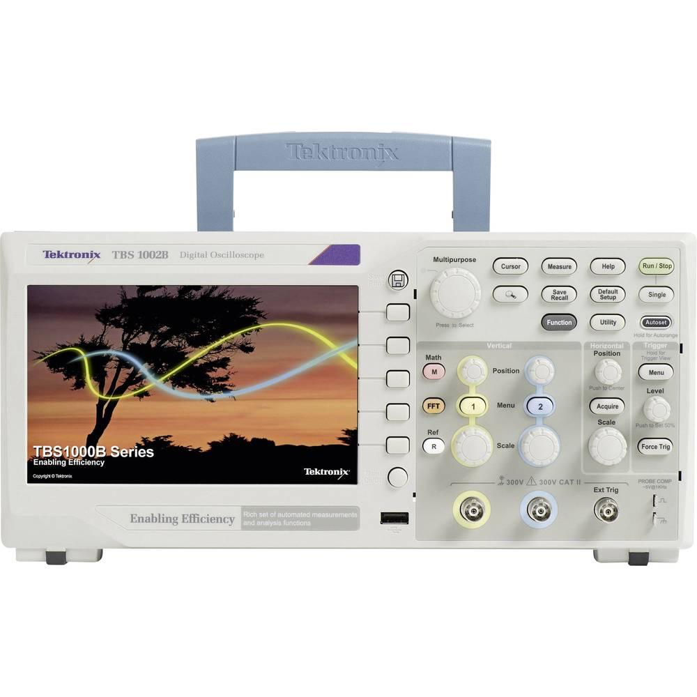 Kal. DAkkS Digitalni osciloskop Tektronix TBS1052B 50 MHz 2-kanalni 1 GSa/s 2.5 kpts 8 Bit kalibracija narejena po DAkkS digital