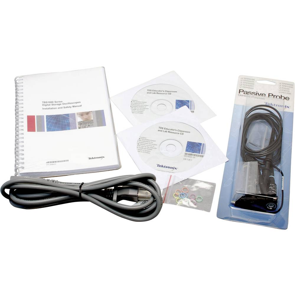 Digitalni osciloskop Tektronix TBS1052B-EDU 50 MHz 2-kanalni 1 GSa/s 2.5 kpts 8 Bit digitalni pomnilnik (DSO)