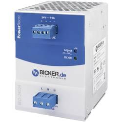 Napajalnik za namestitev na vodila (DIN letev) Bicker Elektronik BED-24024 28 V/DC 10 A 240 W 1 x