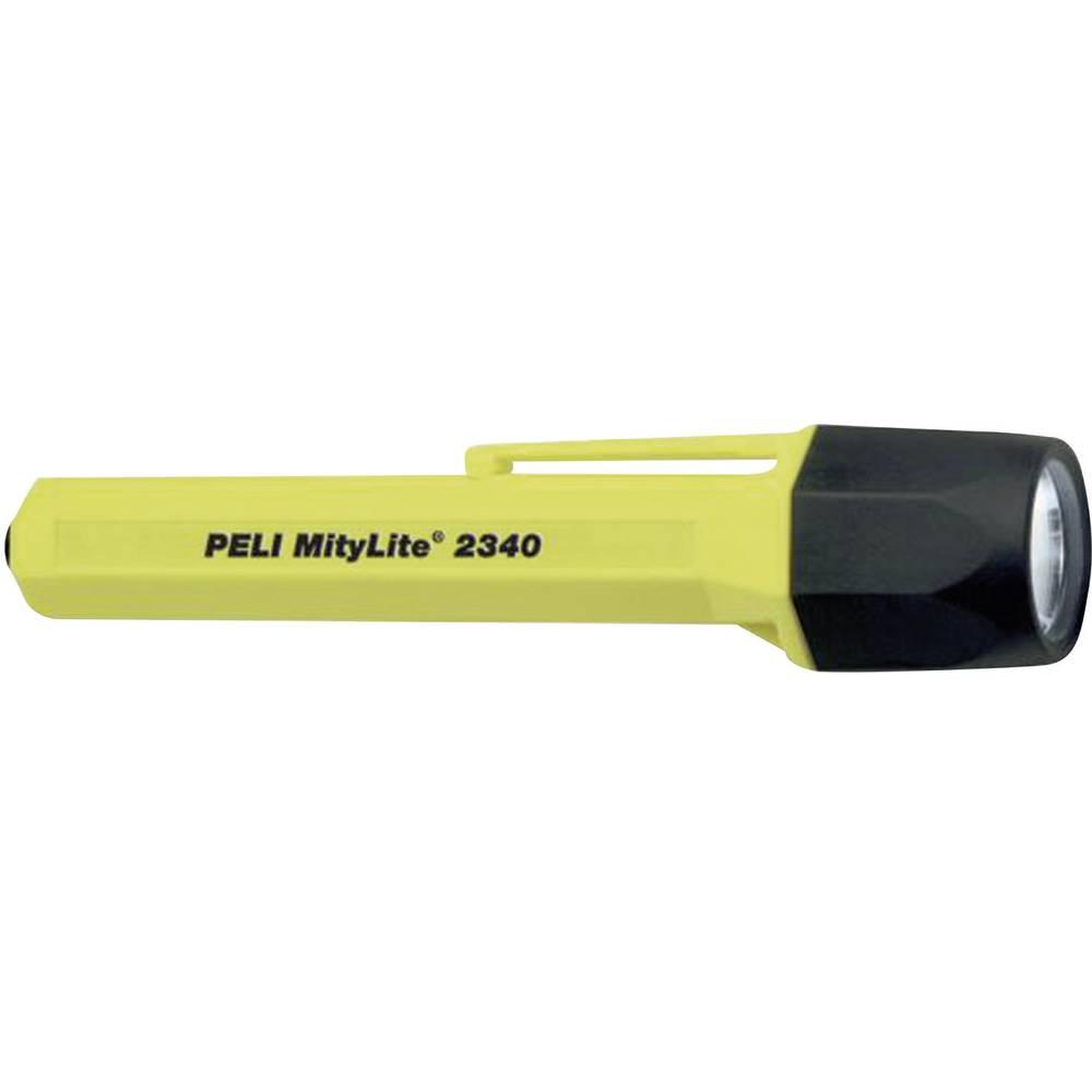 Ksenonska žepna luč PELI MityLite 2340 baterijski pogon 10 lm 100 g rumene barve