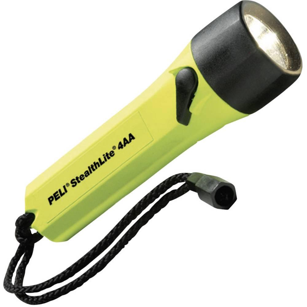 Ksenonska žepna luč PELI StealthLite 2400 baterijski pogon 45 lm 200 g rumene barve