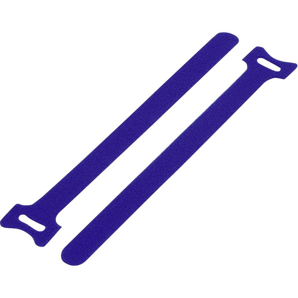 Sprijemalni trak za povijanje, oprijemen in mehek del (D x Š) 210 mm x 16 mm modra KSS MGT-210BE 1 kos