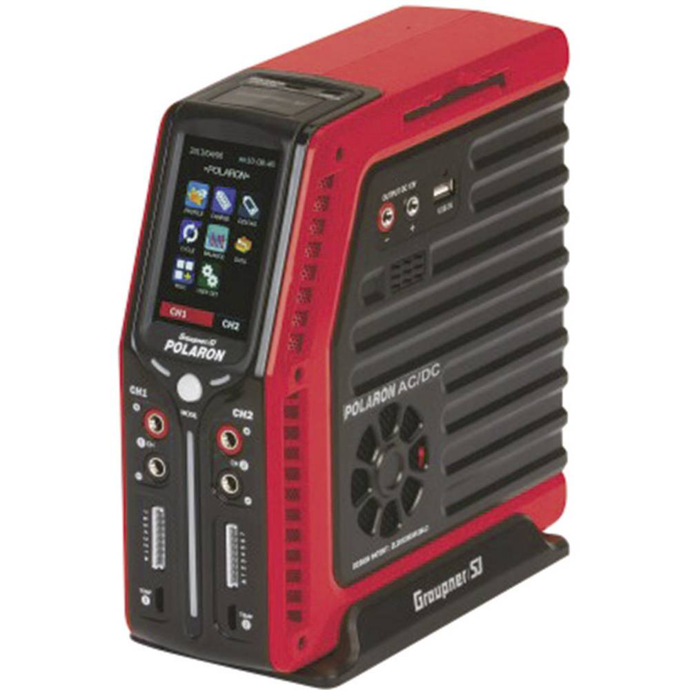 Multifunkcijski napajalnik za modelarstvo 24 V, 220 V 8 A Graupner Polaron AC/DC
