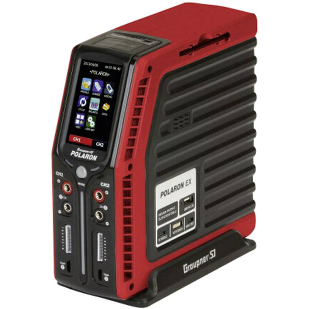 Polnilnik za akumulatorje Graupner Polaron EX, S2011.R, 11-28 V/DC, maks. polnilni tok: 0,1-20 A