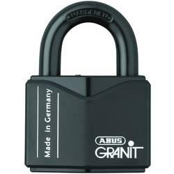 Ključavnica obešanka ABUS ABVS00838 črna, zaklepanje s ključem
