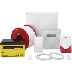 Larmsystem-set ABUS Terson SX AZ4298 Larmzoner 8x trådbundna, 1x sabotagezon