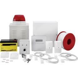Larmsystem-set ABUS Terxon SX AZ4301 Larmzoner 8x trådbundna, 1x sabotagezon