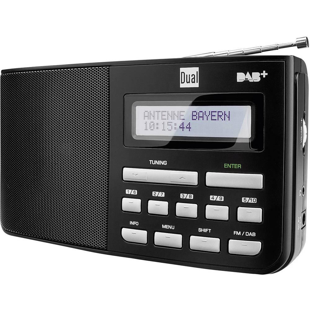 Dual DAB 5.1, prenosni radio DAB +, FM, črna