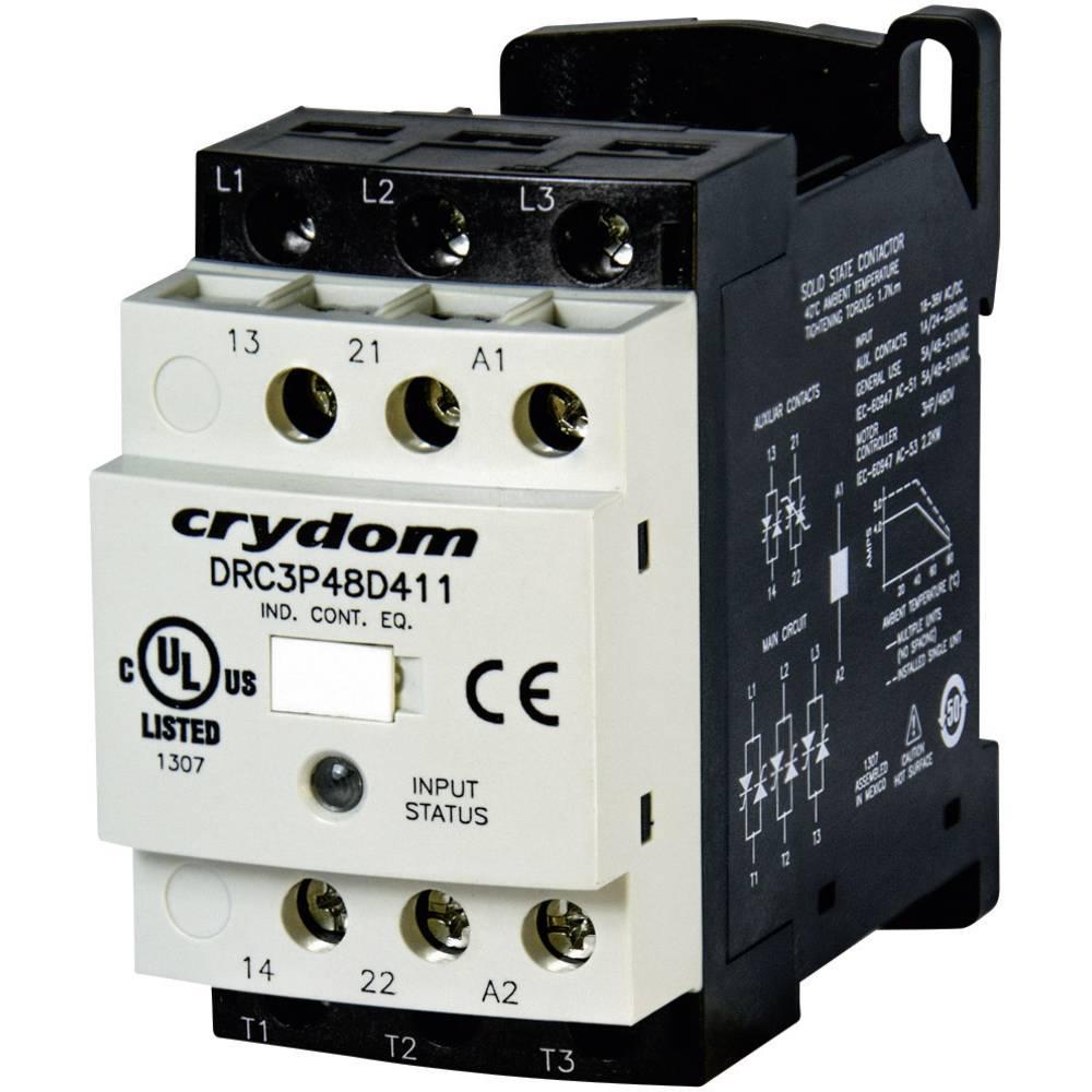 Motorschütz (value.1292962) 1 stk DRC3P48D400R2 Crydom 24 V/DC, 24 V/AC 7.6 A