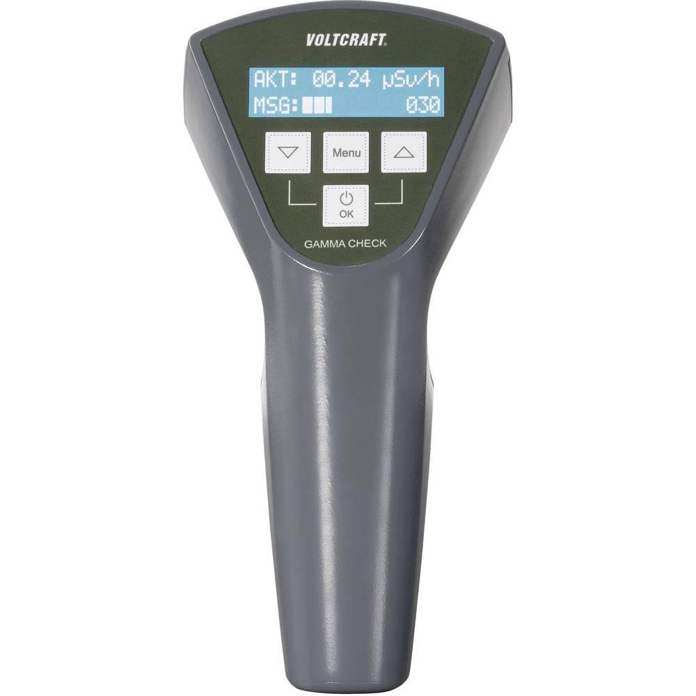 VOLTCRAFT Gamma-Check-A merilnik radioaktivnosti, Geigerjev števec, prikaz sevanja