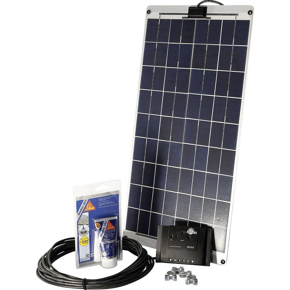 Solarni komplet SM 30L za čolne in jahte Sunset 110262 30 Wp vklj. priključni kabel in regulator polnjenja