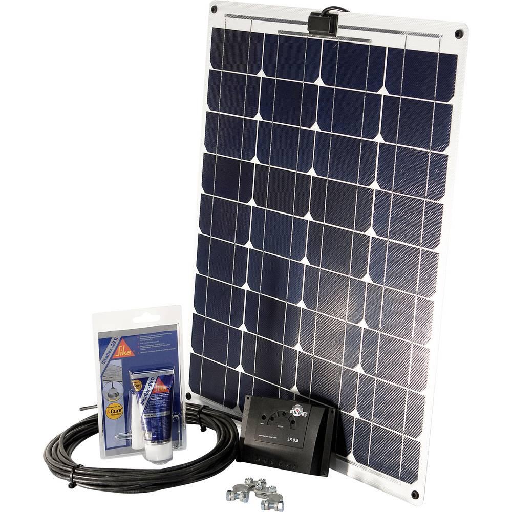 Solarni komplet SM 45L za čolne in jahte Sunset 110263 45 Wp vklj. priključni kabel in regulator polnjenja