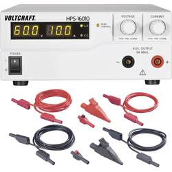 Laboratorijski napajalnik, nastavljiv VOLTCRAFT HPS-16010 1 - 60 V/DC 0 - 10 A 600 W daljinsko vodenje z možnostjo programiranja