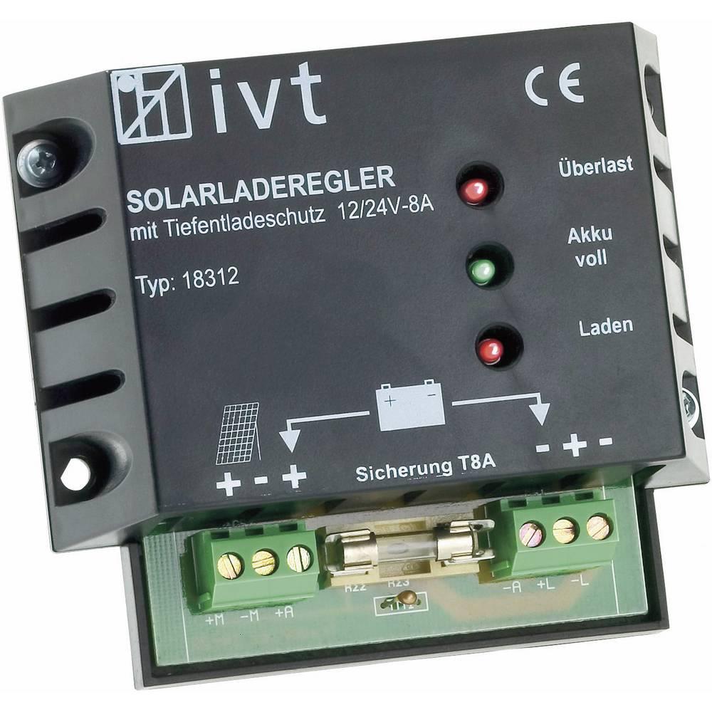 Solarni regulator punjenja 12 V, 24 V 8 A IVT