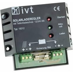 Solcelle-opladningsregulator IVT Shunt 12 V, 24 V 8 A