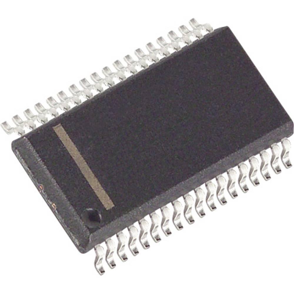 PMIC - grafikdriver Maxim Integrated MAX6957AAX+ LED 7-segmenter, 16-segmenter, 20 segmenter Vierdraht, Seriell 180 µA SSOP-36