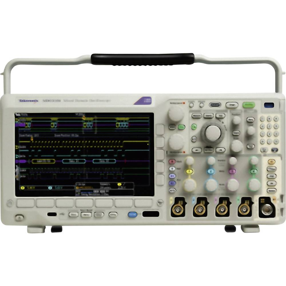 Kal. ISO Digitalni osciloskop Tektronix MDO3052 500 MHz 2-kanalni 2.5 GSa/s 10 Mpts 11 Bit kalibracija narejena po: ISO, digital