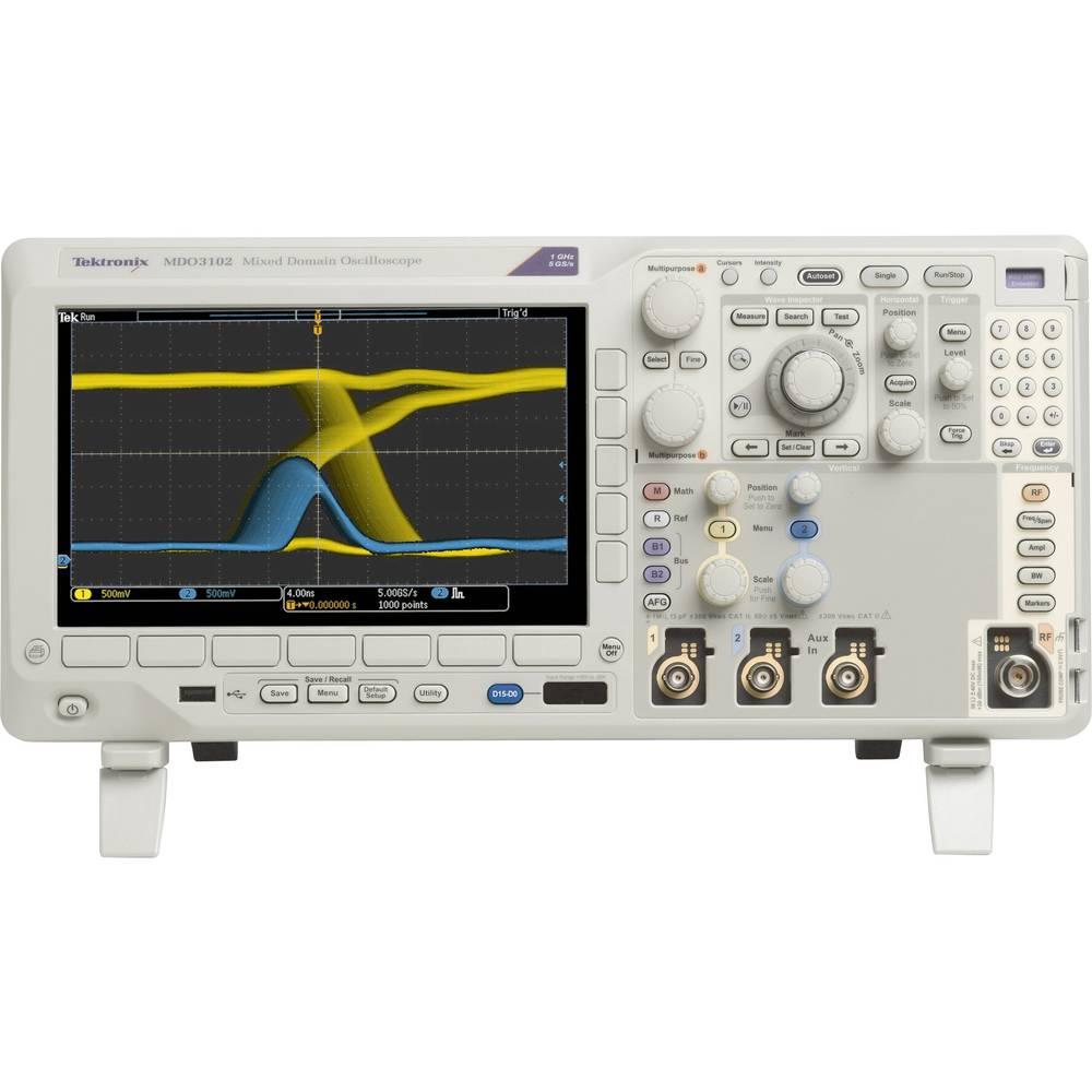 Digitalni osciloskop Tektronix MDO3052 500 MHz 2-kanalni 2.5 GSa/s 10 Mpts 11 Bit digitalni pomnilnik (DSO), mešani signal (MSO)