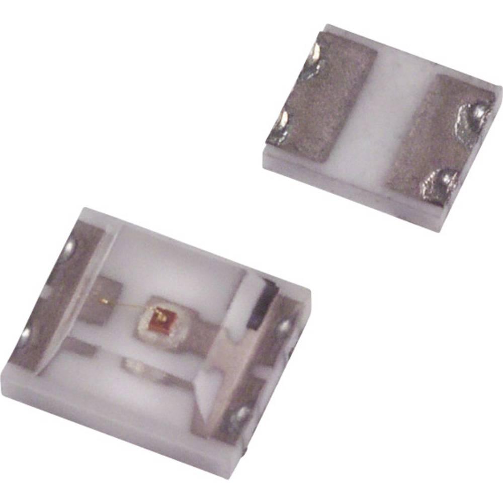 SMD-LED (value.1317393) LUMEX CCL-CRS10R SMD-4 12 mcd 180 ° Rød