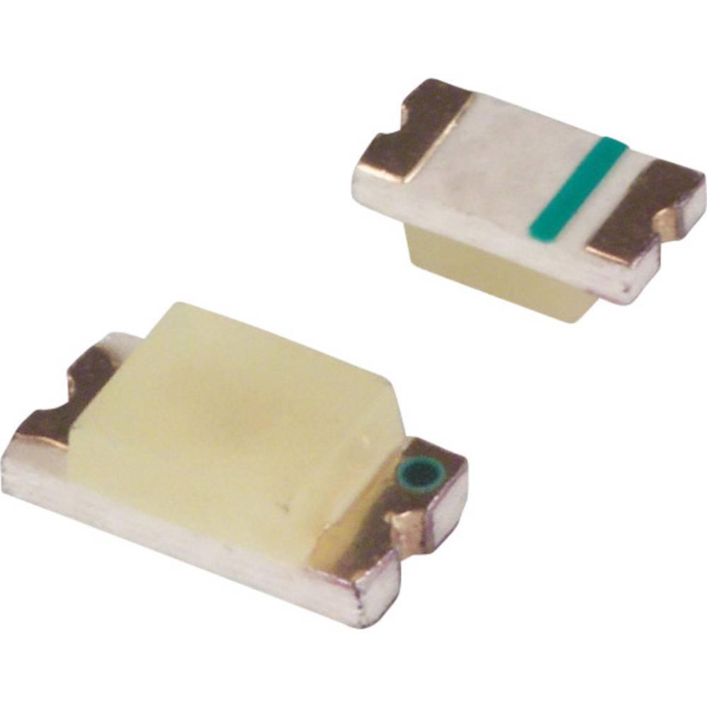 SMD LED LUMEX SML-LX1206YC-TR 3216 6 mcd 160 ° Gul