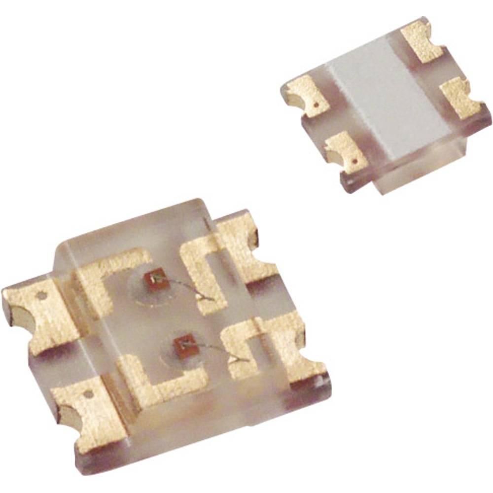 SMD LED LUMEX SML-LX1210SRSRC-TR 3225 15 mcd 160 ° Rød